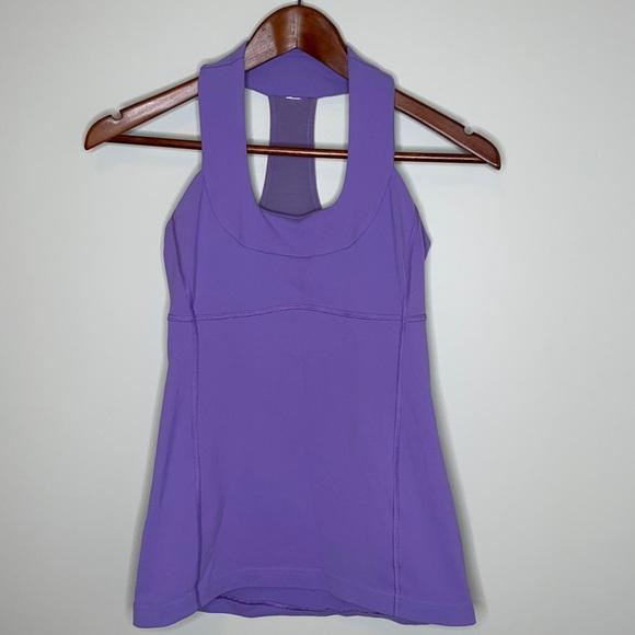 Lululemon lavender dusk Scoop Neck yoga tank top 4
